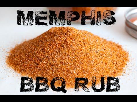 Memphis Dry Rub - BBQ Rub Recipes #1