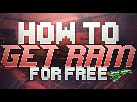 How To Get RAM For Free On Your Windows Laptop Or PC! INSANE Performance Boost! (2017)