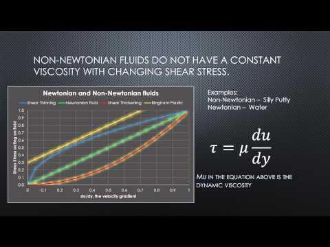Newtonian Fluids vs  Non Newtonian Fluids