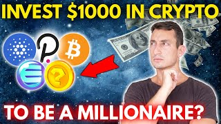 WHAT CRYPTOS I WOULD BUY WITH $1000: How to Create ANY Crypto Portfolio Plan!