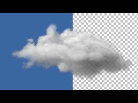 Cloud Smooth Cut Outs or Selection In Photoshop