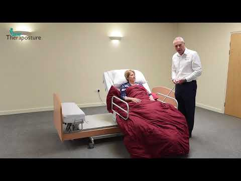 Theraposture: how to manage bedding with the Rotoflex rotational bed