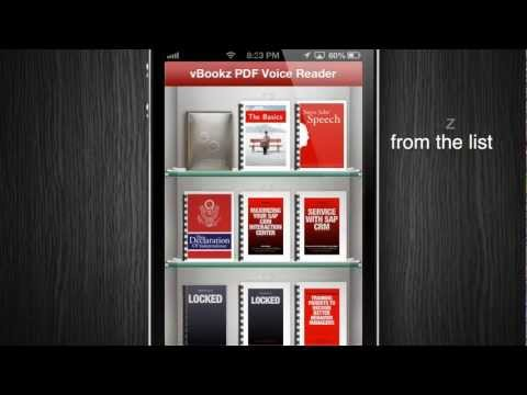 How to export a PDF file from iBooks to vBookz