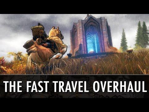 Skyrim Mods: 'The Fast Travel Overhaul'