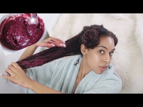 EXTREME Deep Conditioning Rapid Hair Growth & Repair Mask! Hibiscus for Natural Hair