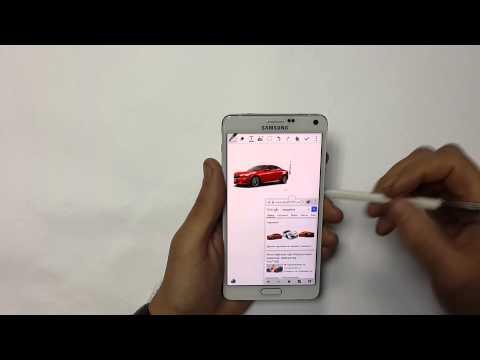 Samsung Galaxy Note 4: работа со стилусом S-Pen