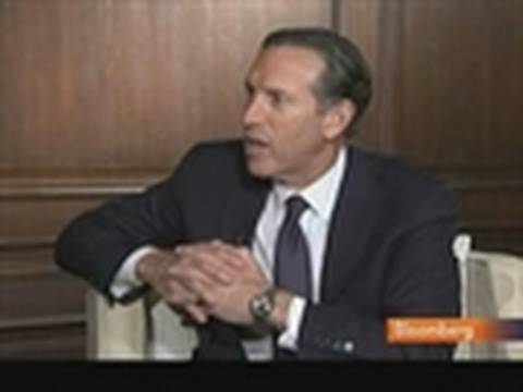 Starbucks' Schultz Discusses Via Instant Coffee Sales: Video