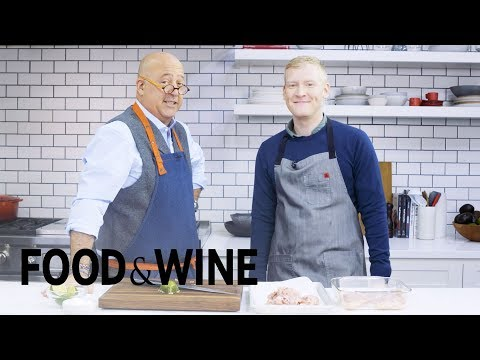 How To Make Crispy Chicken Skin Tacos With Andrew Zimmern |  Mad Genius Tips | Food & Wine