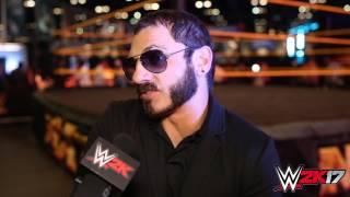 WWE 2K17 - WrestleMania Interview Austin Aries