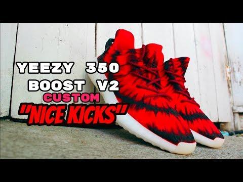 Custom Yeezy 350 V2