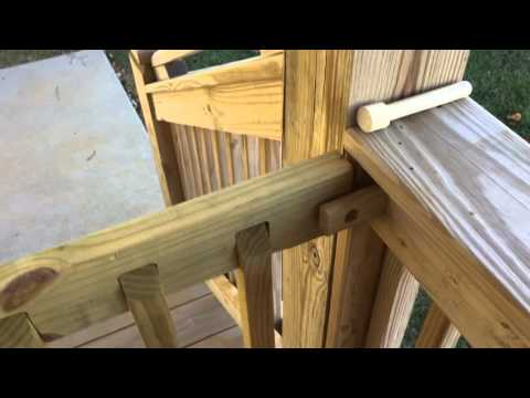 DIY Project - Sliding Deck Gate