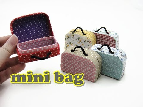 DIY Mini Doll Accessories Bag / Paper Craft