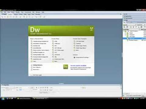 Creating Web Templates In Dreamweaver
