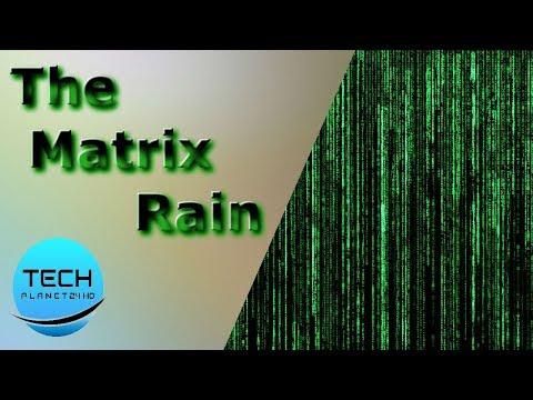 How To Create The Matrix Rain In Command Prompt - Matrix Rain Code