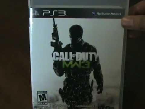 Call of Duty Modern Warfare 3 Unboxing! (Pre-Order Bonus)