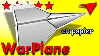Avion En Papier Qui Vole Bien Tutoriel Origami Planeur