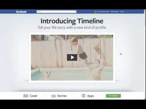 How To Get Facebook Timeline Layout | Activate Facebook Timeline Layout