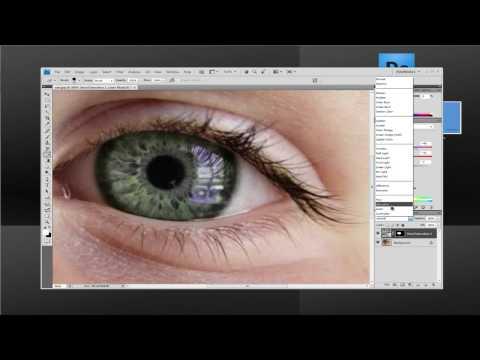 changing eye color photoshop CS4(tagalog)
