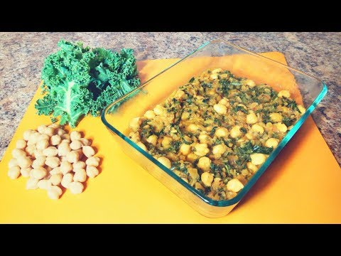 KALE & CHICKPEA CURRY || VEGAN INDIAN CURRY
