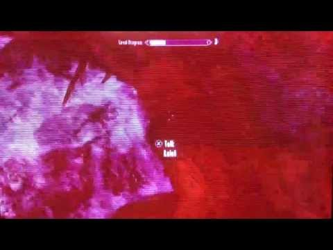 Skyrim leveling up glitch in the beginning after patch 1.9