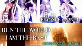 No Excuses/Run The World | Meghan Trainor & Beyonce (Mashup