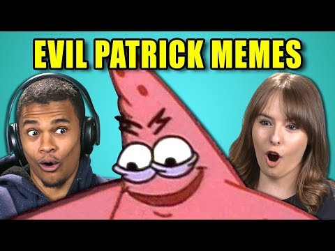 COLLEGE KIDS REACT TO EVIL PATRICK MEME COMPILATION (Savage Patrick)