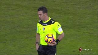 Highlights Bologna FC-AC Milan  10th February 2017 Serie A