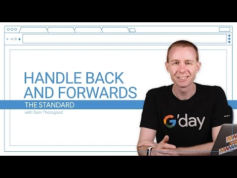 Handle Back and Forwards (The Standard, Ep. 7)