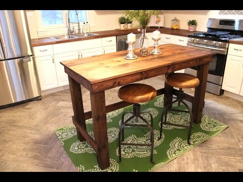 The $20 Kitchen Island - Easy DIY Project