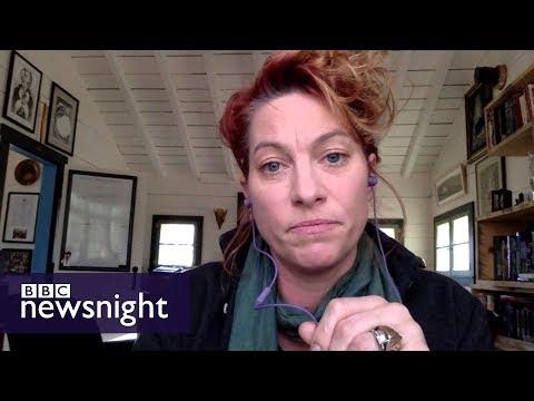 Musician Amanda Palmer on Bill Cosby verdict - BBC Newsnight