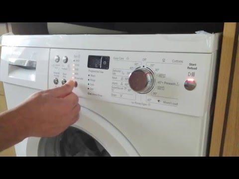 Bosch stop alarm beep bleep VarioPerfect washing machine  WAQ283S1GB_WH