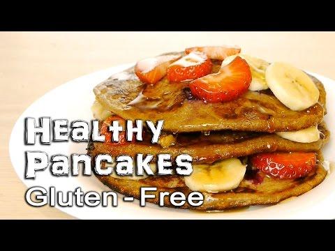 Healthy Pancakes   Gluten-Free and Vegan