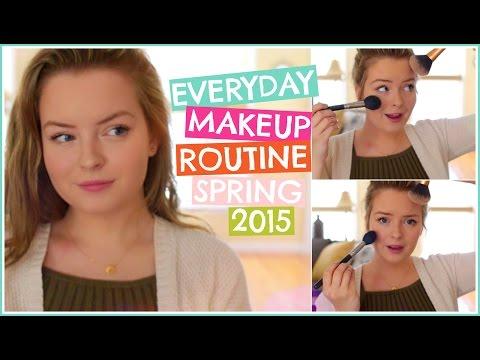 Everyday Makeup Routine! Spring High School Makeup