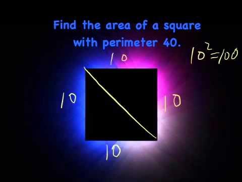 Area of Quadrilaterals with Perpendicular Diagonals