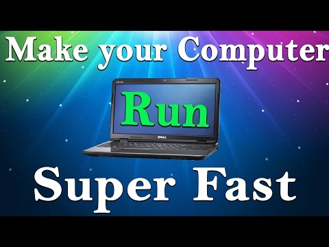 How To Make Your Computer - Laptop Run Faster 2015 (six simple steps)