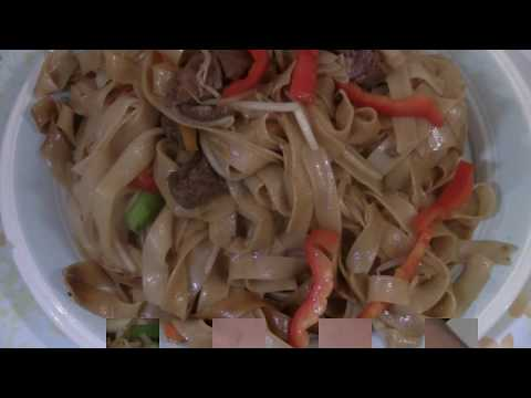 Rice Noodle Stir Fry With Beef  干炒牛河   (Beef Chow Foon)  Better Than Chinese Restaurant Recipe