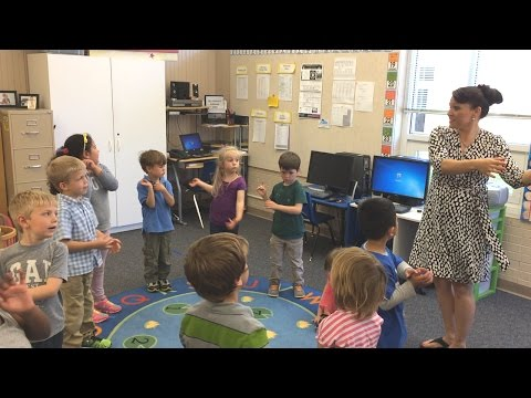 Teaching Letter Sounds with Singing and Movement