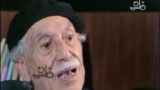 كانت أيام׃ نجوان أحمد تهنيء شيخ الكتاب توفيق الحكيم بعيد ميلاده رقم 85