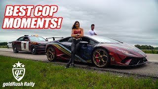 BEST COP MOMENTS OF GOLD RUSH RALLY 2019! Supercar Owners VS. Police, Cop vs Cop, Alex Choi, & MORE!