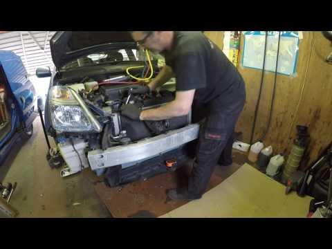 Toyota Prius Generation 2 Air Conditioning Condenser replacement