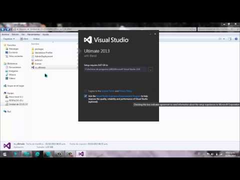 Descargar e instalar Visual Studio 2013 Ultimate full autoactivado [ MEGA] 32 y 64