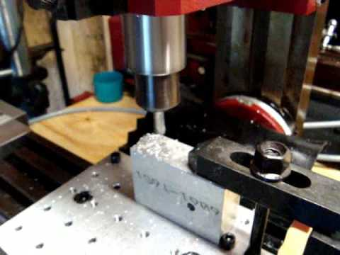 X2 milling part