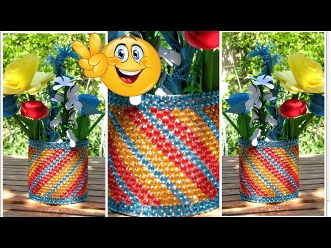 Recycle Crafts. SUPER EASY TIN CAN DESIGNS| Tin Can Recycle Crafts