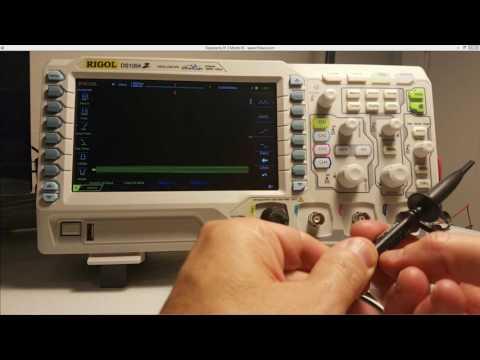 Rigol Oscilloscope Probe Compensation