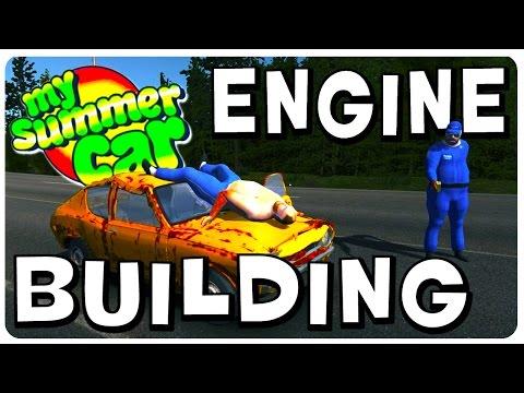 My Summer Car - Engine Building Walkthrough (Part 1) | Tutorial Gameplay