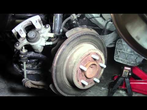 2013 FORD ESCAPE How to Change REAR Brakes and ROTORS DIY Step by Step