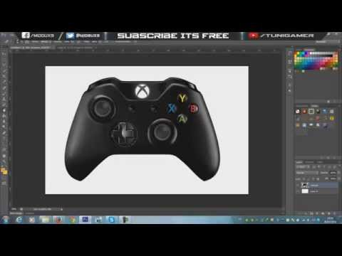 Tutorial-How To Make The Controller Logo On PhotoShop CS6 - By MiDoUx9 (slow version)