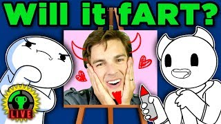 Download Epic Art CHALLENGE ft. TheOdd1sOut & SomethingElseYT! | Pictionary (Game Theory Charity Livestream) Video