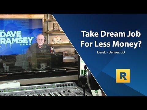 Should I Take A Dream Job For Less Money?