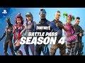 Fortnite - Battle Pass Season 4 Launch Trailer | PS4